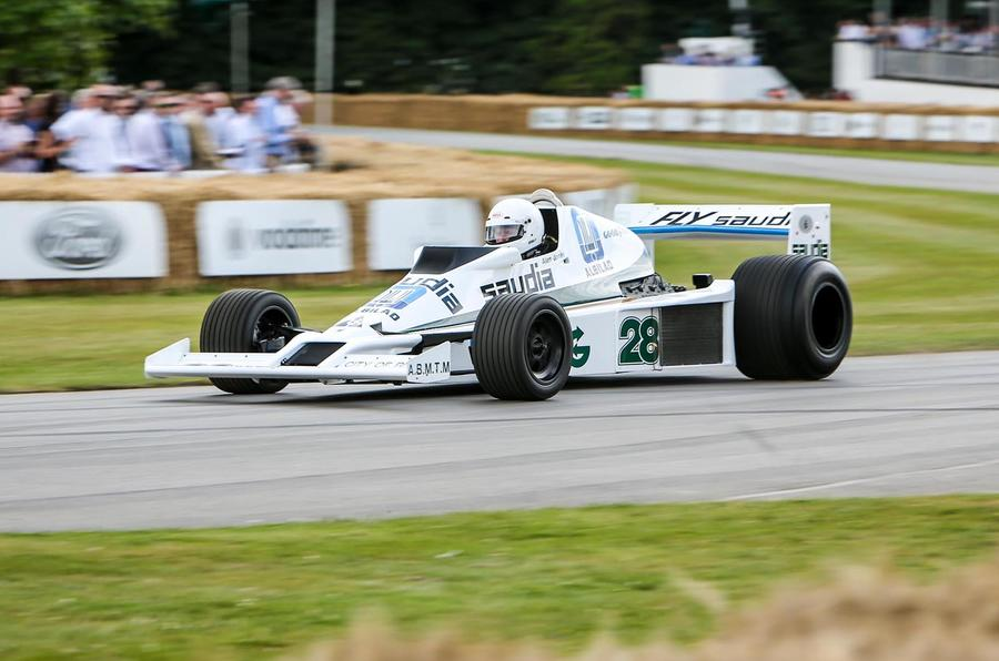 WILLIAMS-COSWORTH FW06