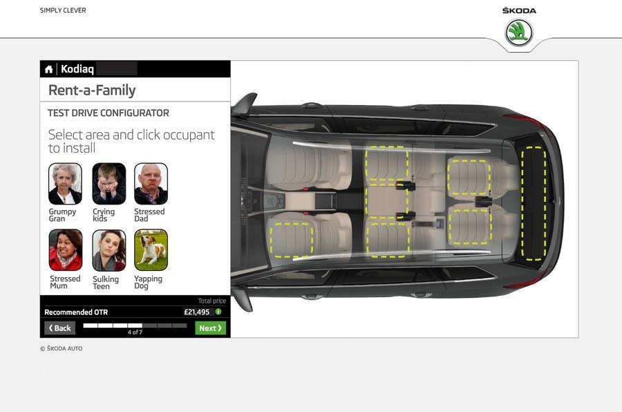 Skoda Rent-A-Family