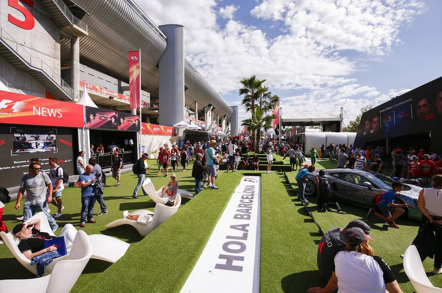 New fan zone at Circuit de Catalunya