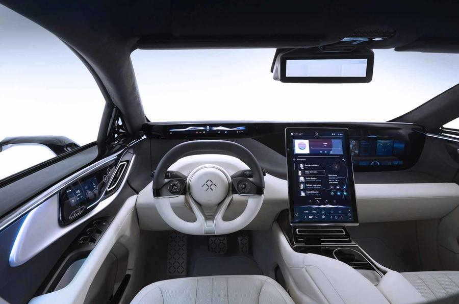 Las Vegas Electric >> Faraday Future FF91: driving the car that nearly didn't ...