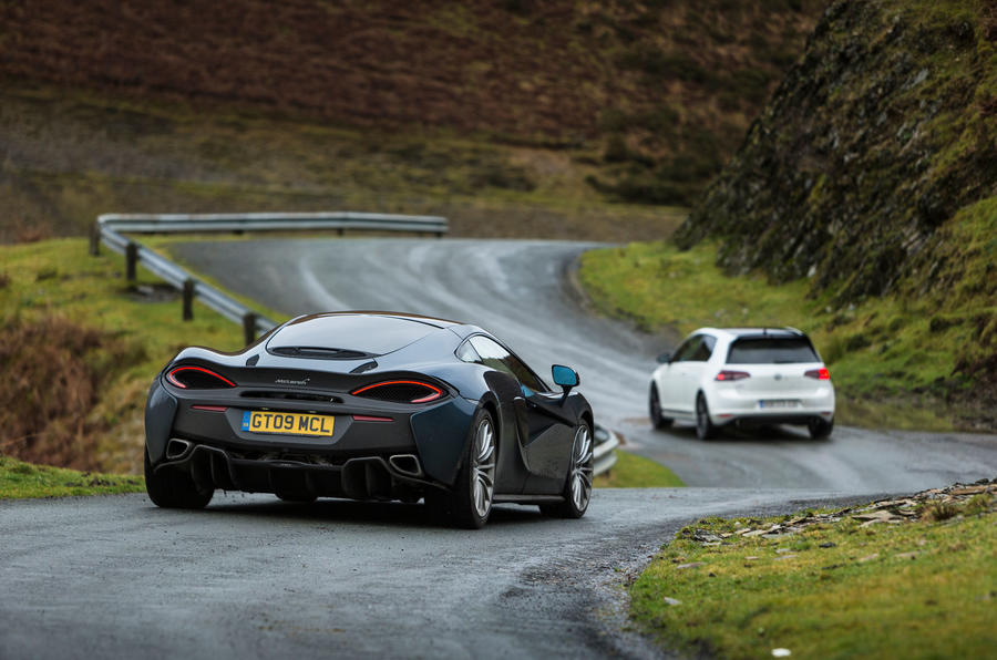 how to test drive a mclaren