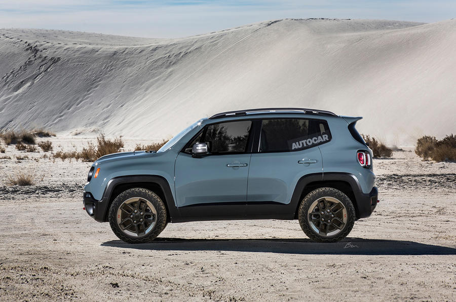 jeep confirms new entry level model to sit below renegade autocar. Black Bedroom Furniture Sets. Home Design Ideas
