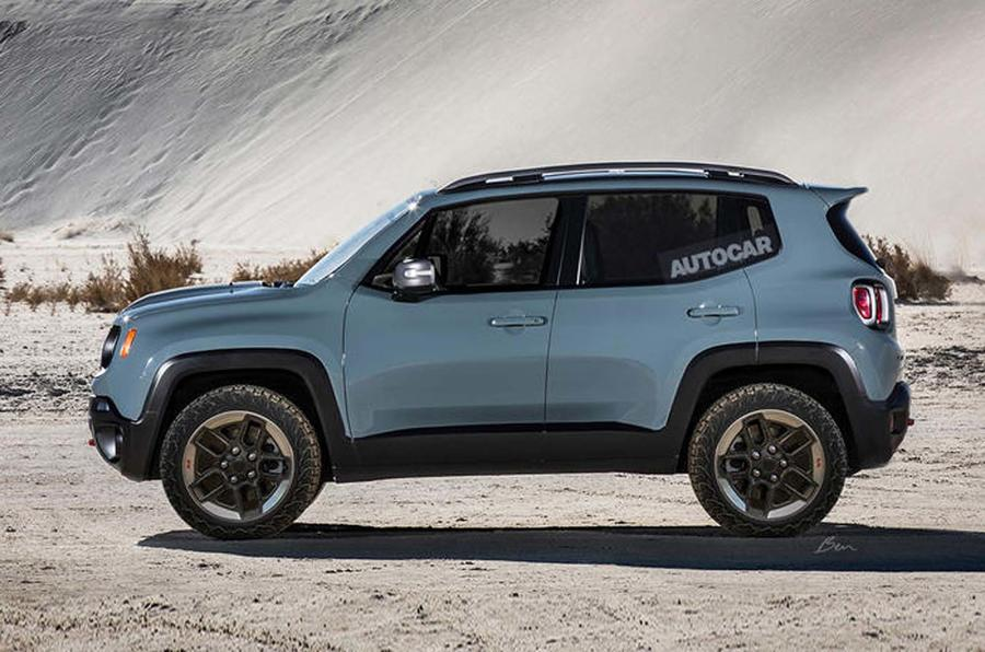 Jeep confirms sub-Renegade SUV, more Deserthawks and Trackhawks