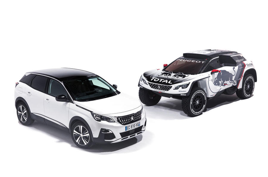 2017 Peugeot 3008 DKR To Make Its Debut In Paris Autocar