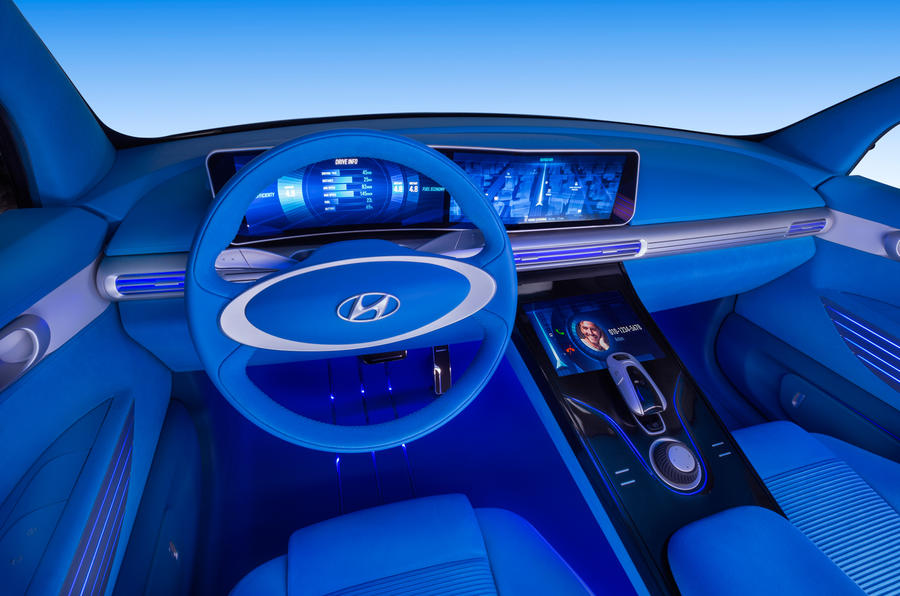 Hyundai FE Fuel Cell Concept previews 2018 production model