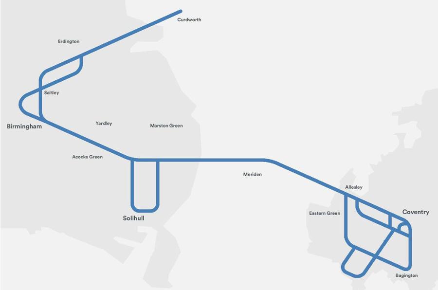 Midlands Future Mobility Scheme map