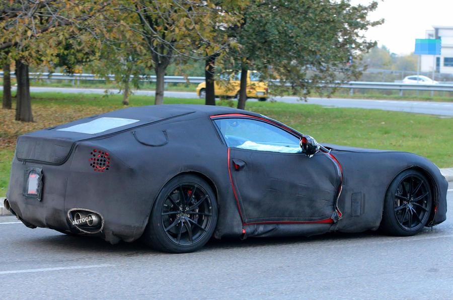 2017 Ferrari F12 M - successor to F12 spotted testing