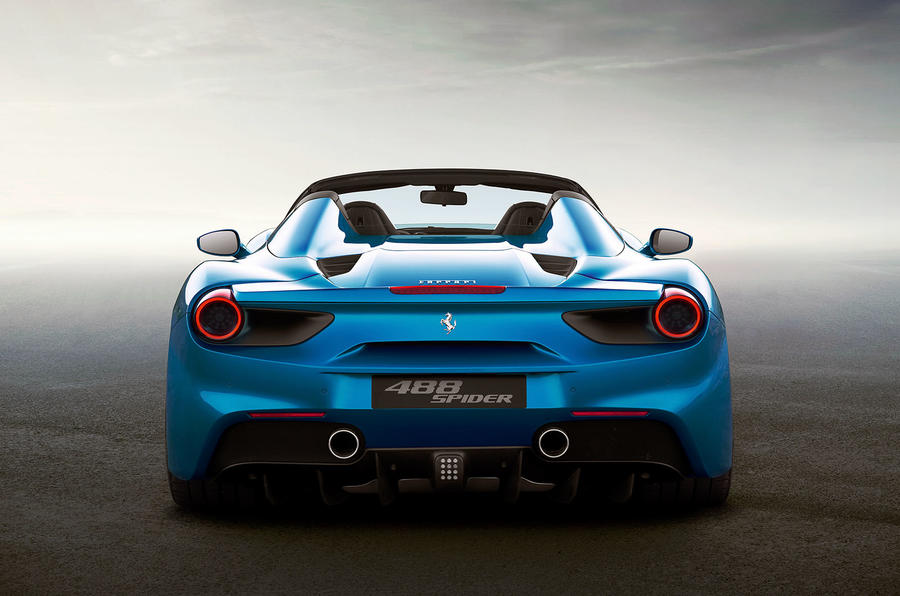 2016 Ferrari 488 Spider revealed - new pictures and video ...