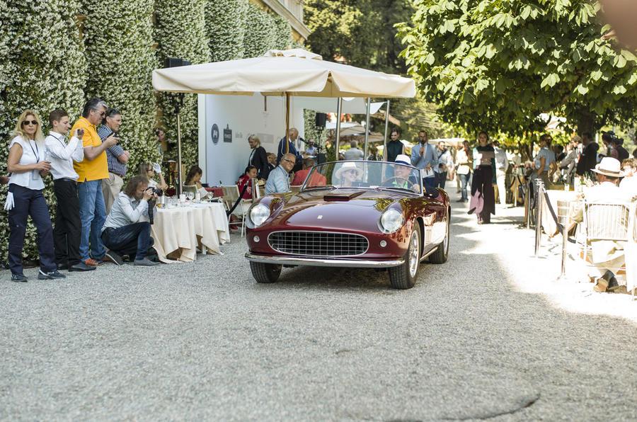 Ferrari 260 GT Spyder California Prototipo Villa D'Este 2017