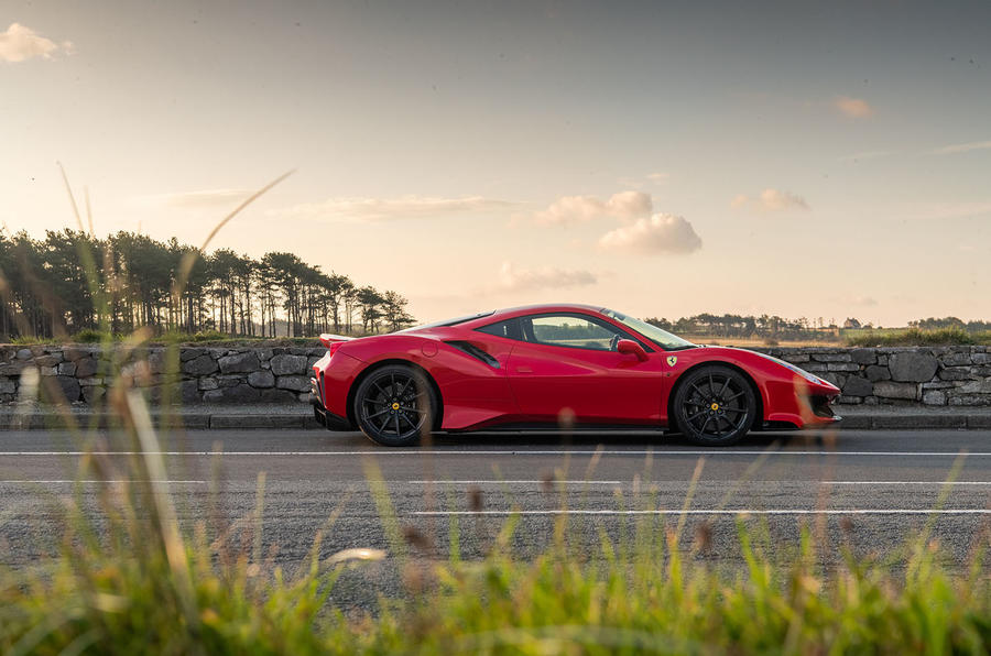 Ferrari 488 Pista 2018 UK first drive review - static side