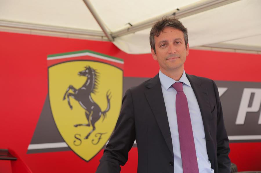 Enrico Galliera - Ferrari
