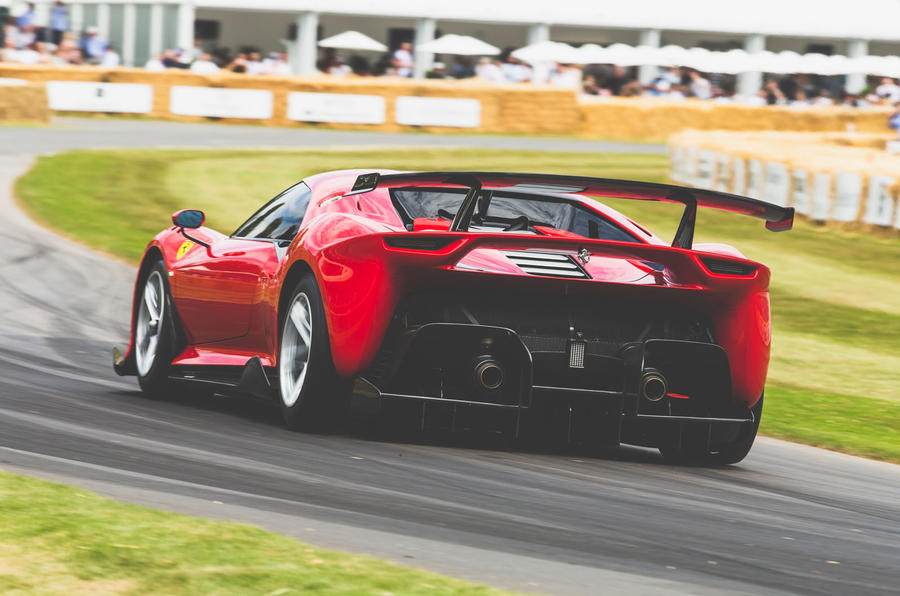 Ferrari P80/C at Goodwood Festival of Speed 2019
