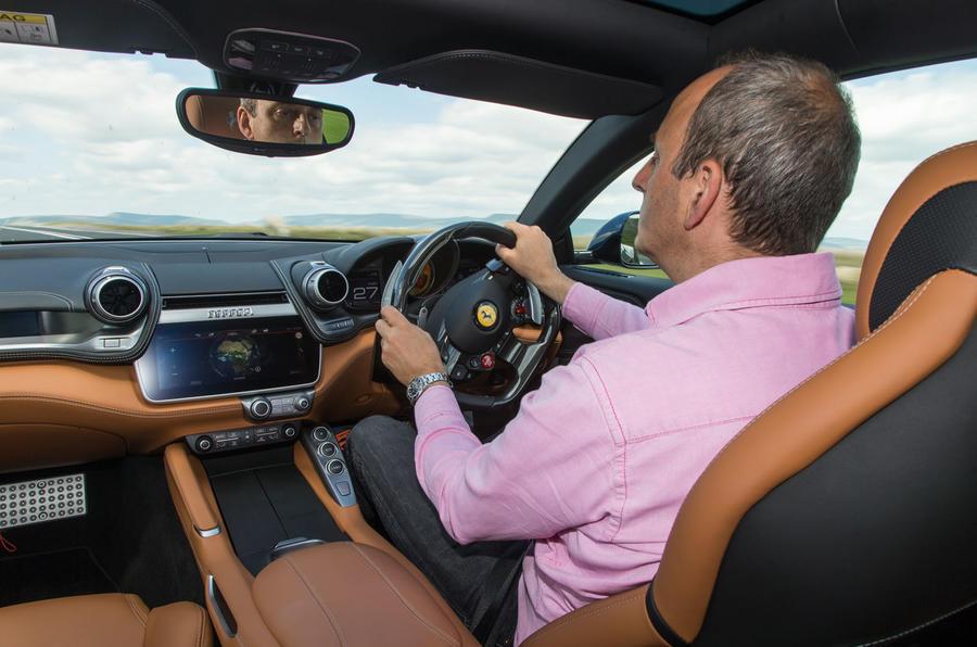 Driving the Ferrari GTC4 Lusso