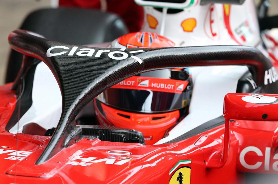 Ferrari F1 halo 2016