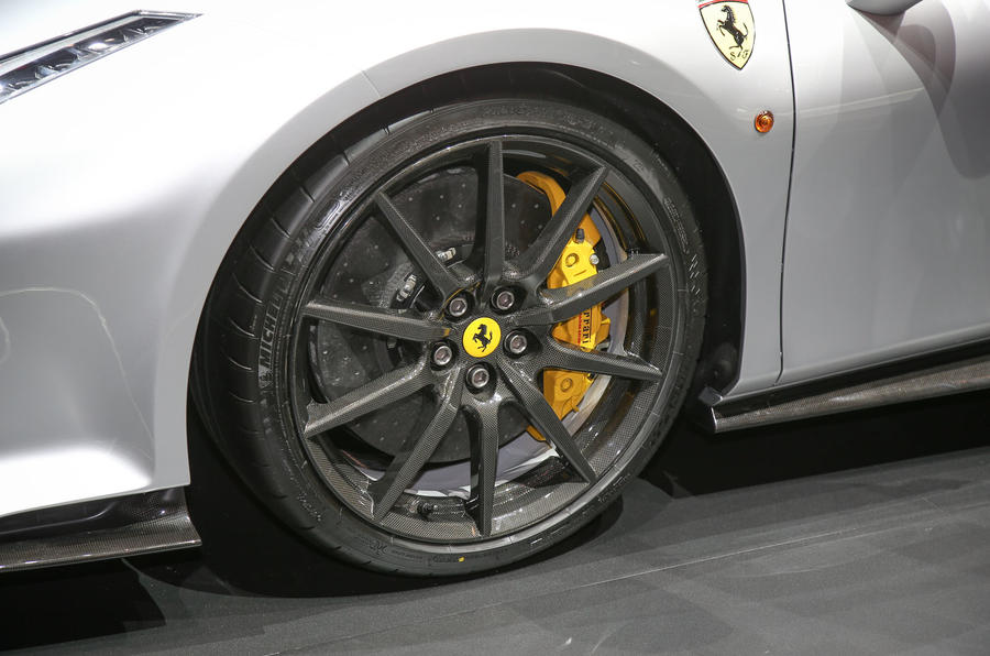 The Ferrari 488 Pista at the Geneva motor show