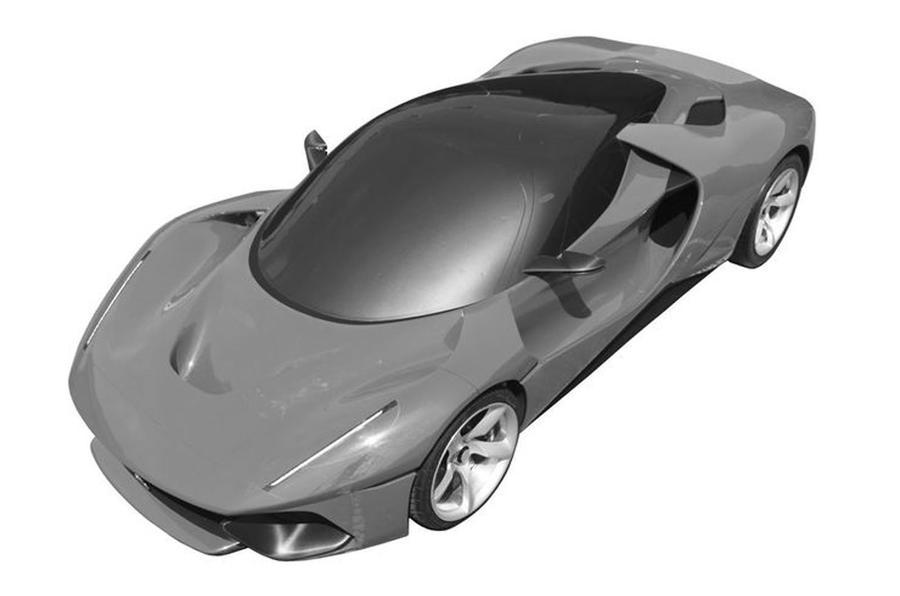 Ferrari patent image
