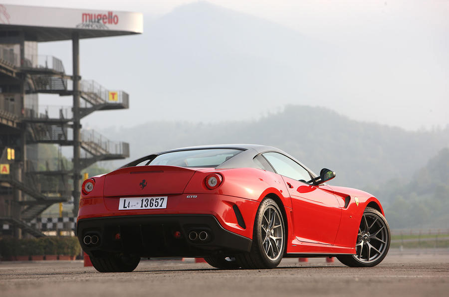 61: 2010 Ferrari 599 GTO - NEW ENTRY