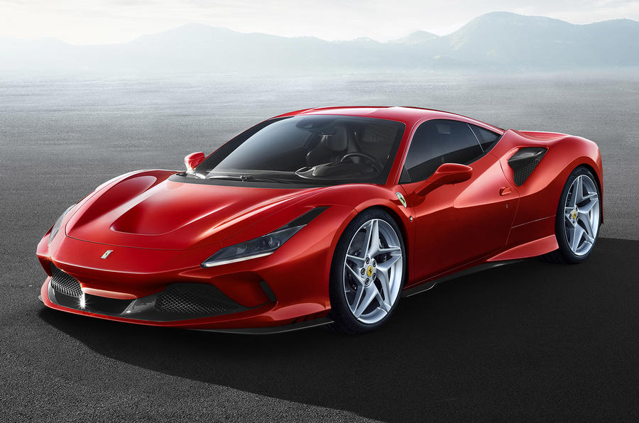 Ferrari F8 Tributo official press - hero front