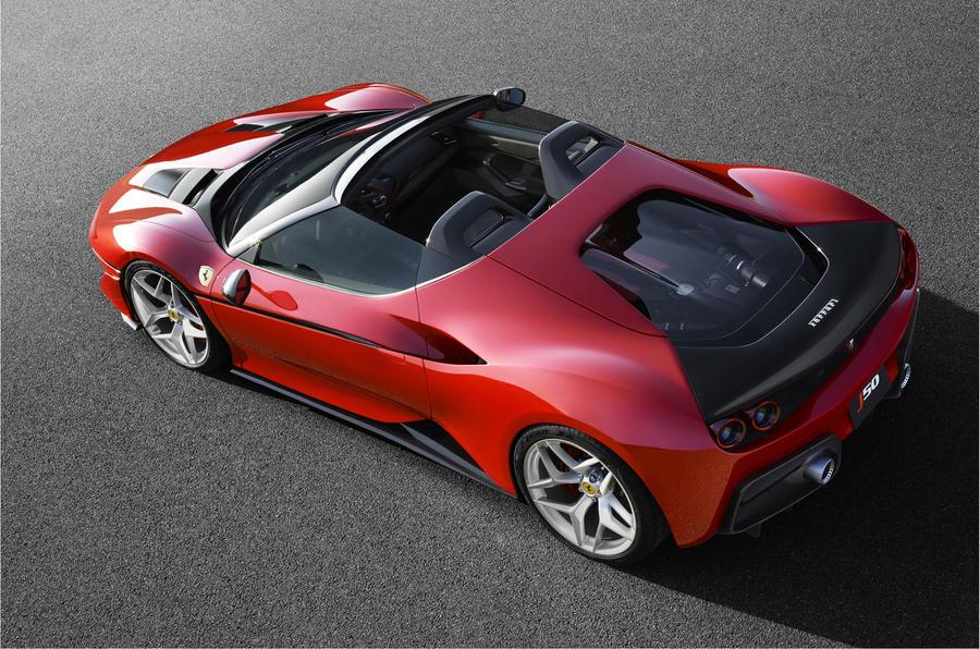 Limited Edition Ferrari J50 Revealed In Japan Autocar
