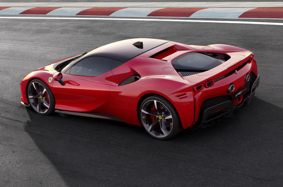 Ferrari SF90 Stradale press shots - rear corner