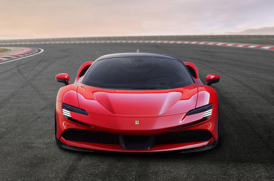Ferrari SF90 Stradale press shots - front