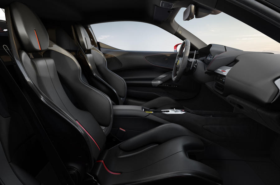 Ferrari SF90 Stradale press shots - front seats