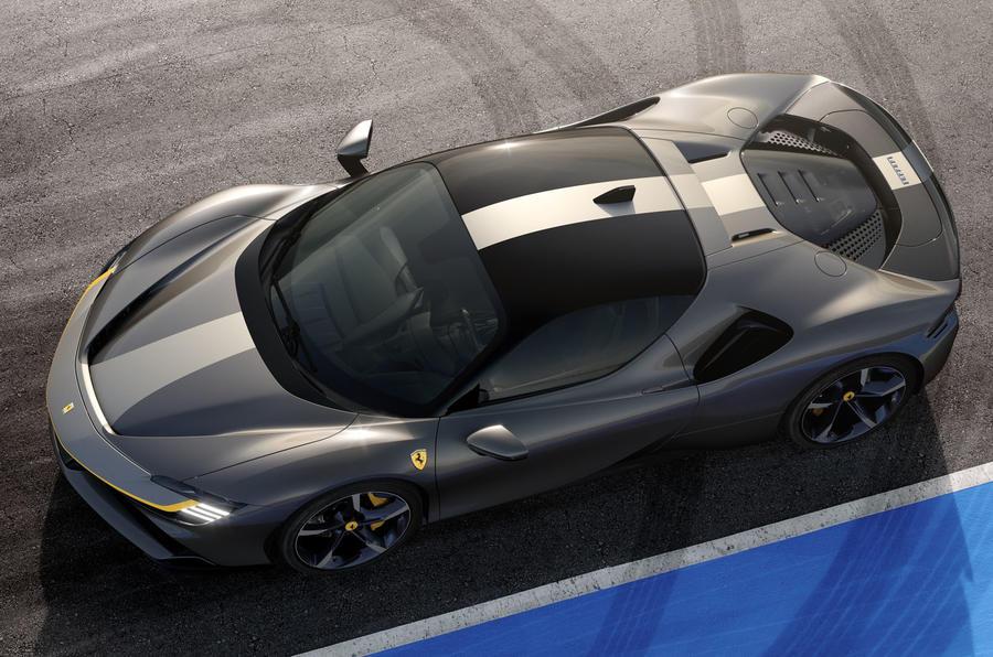 Ferrari SF90 Stradale in grey