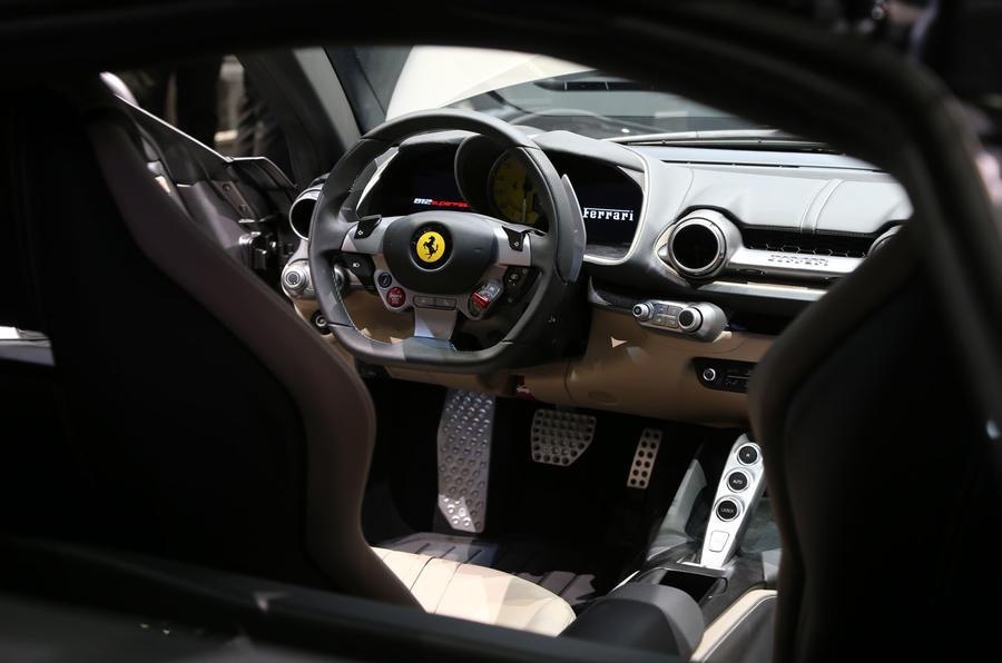 2018 ferrari 812 interior. brilliant interior 789bhp ferrari 812 superfast for 2018 ferrari interior