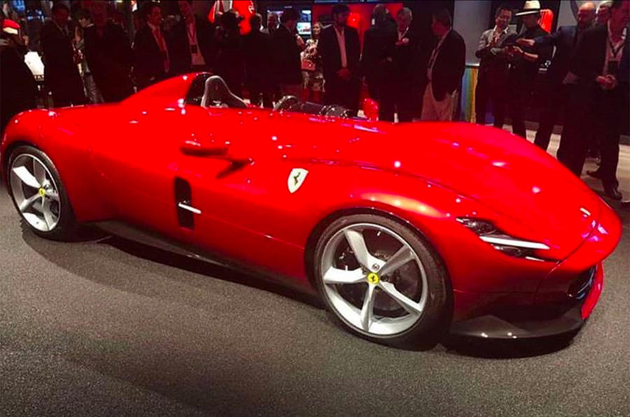 Ferrari Monza SP1 and SP2 leaked ahead of official premiere