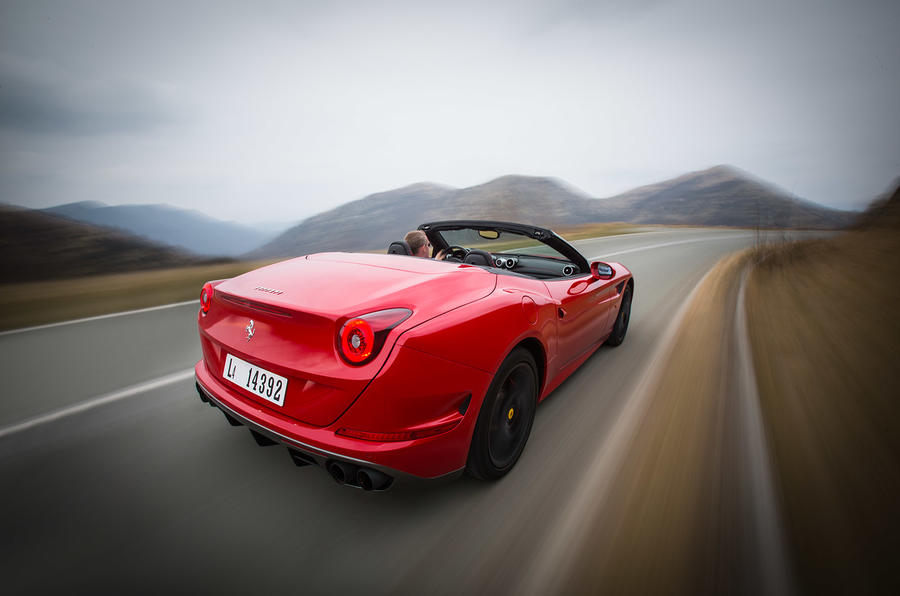 Ferrari California Handling Speciale rear