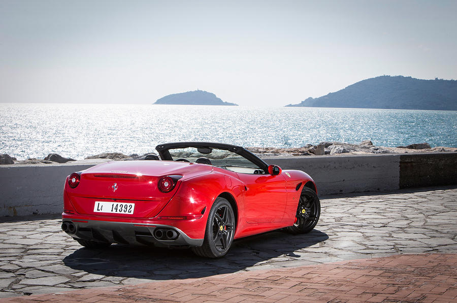Ferrari California T HS rear