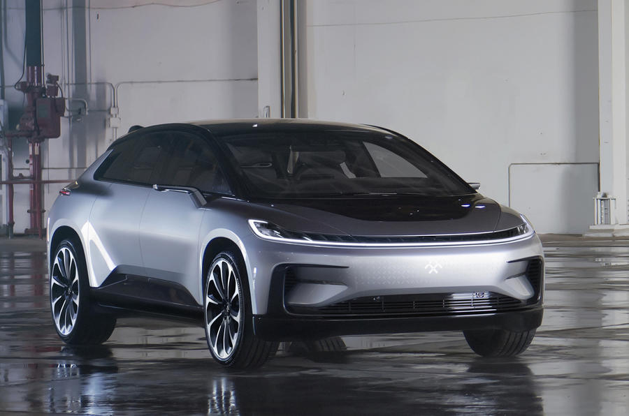 FF91 electric car