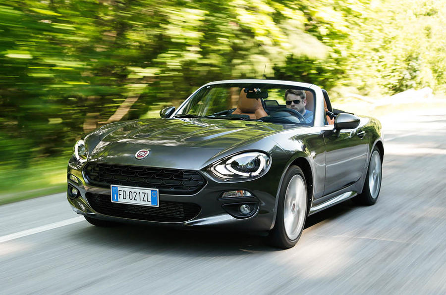 Fiat spider 124 review