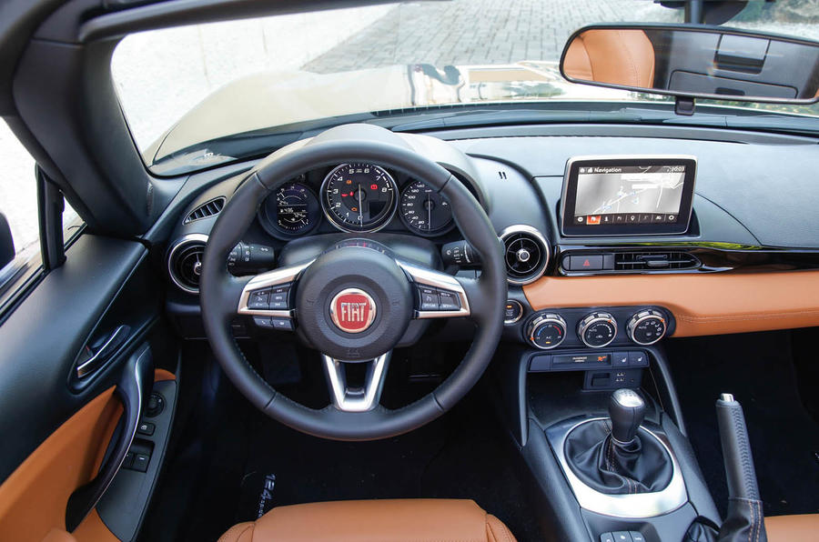 2016 Fiat 124 Spider Review Review Autocar