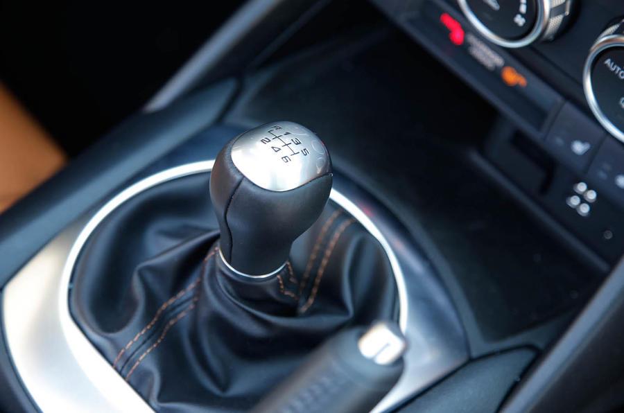 Fiat 124 Spider manual gearbox