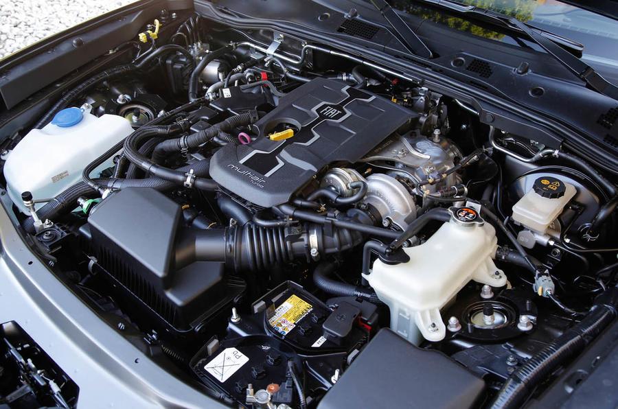 1.4-litre Fiat 124 Spider engine