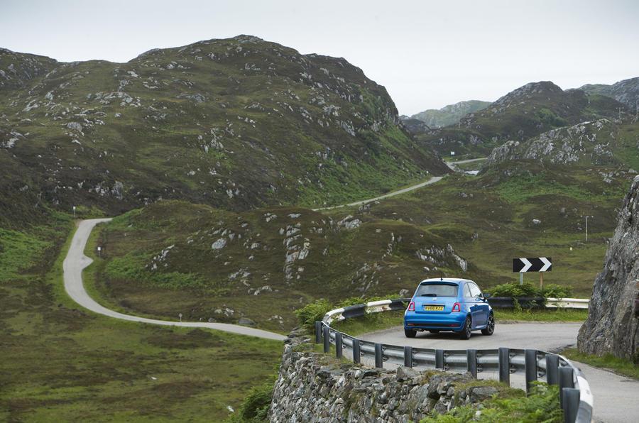 Fiat 500 at 60: road trip around Scotland's North Coast 500