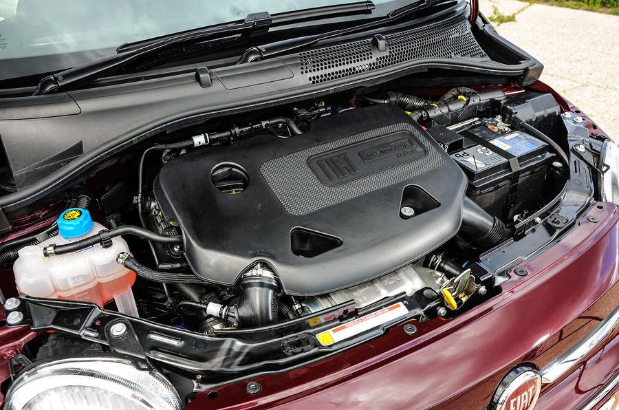 1.2-litre Fiat 500 engine