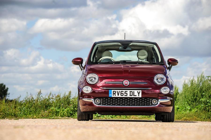 Fiat 500 front