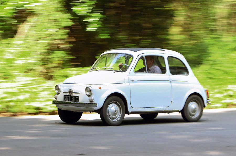 Fiat 500 at 60: original Nuova Cinquecento driven
