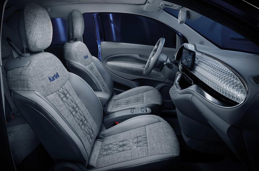 Fiat 500 Kartell - interior