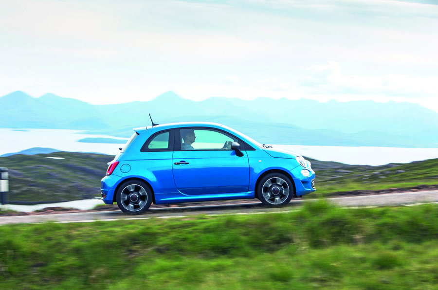 Fiat 500 1.2 - driving side