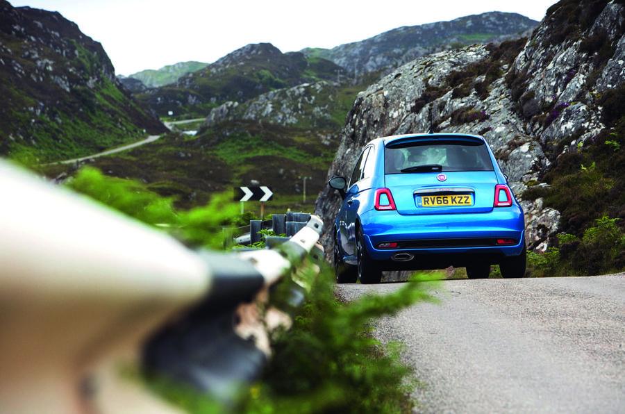 Fiat 500 1.2 - rear