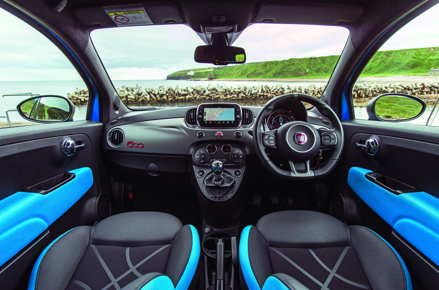 Fiat 500 1.2 - interior