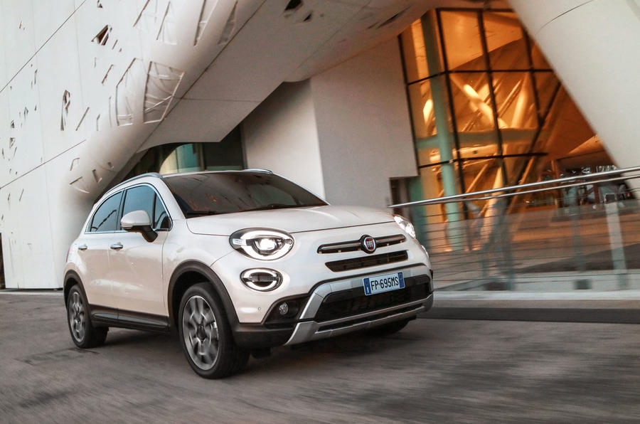fiat 500x 2018 review autocar. Black Bedroom Furniture Sets. Home Design Ideas