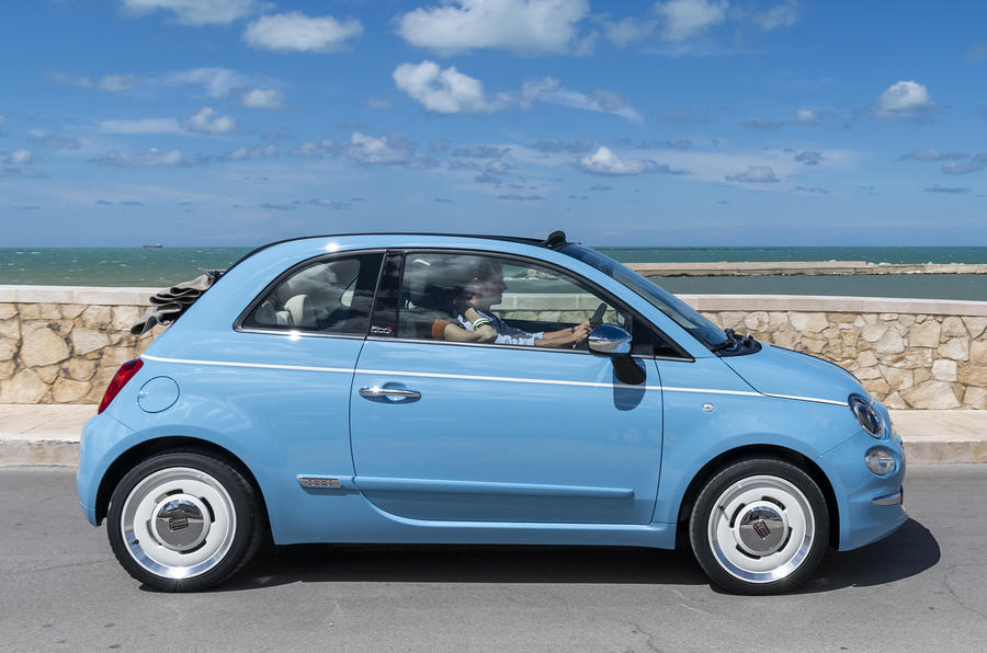 Fiat 500 Spiaggina by Garage Italia is coachbuilt nod to '50s oddity