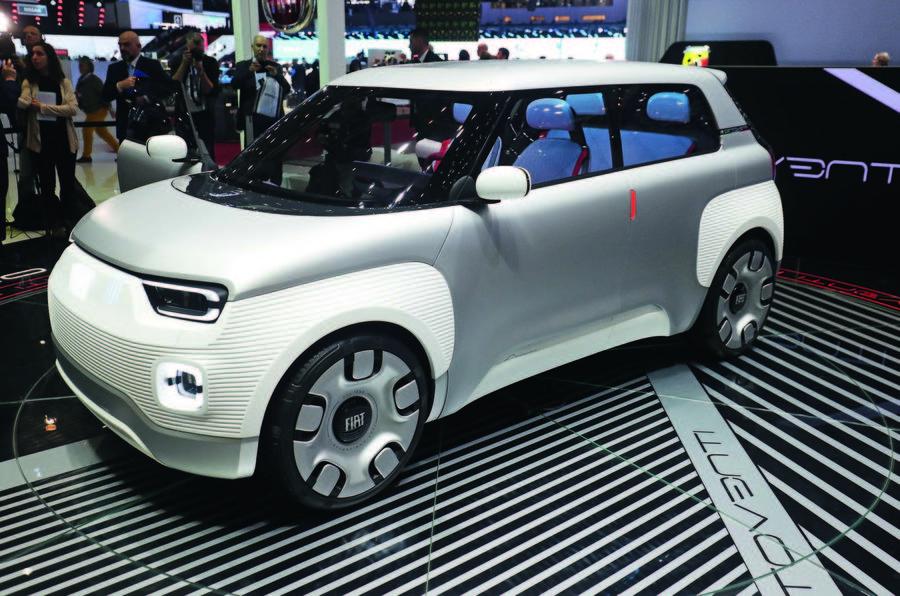Fiat Centoventi unveiling Geneva - front