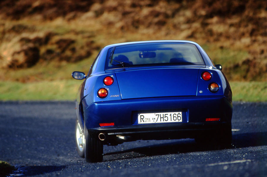Fiat Coupe spotted in the classifieds - rear