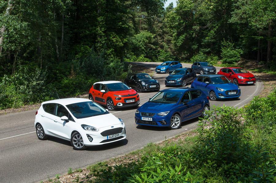 Best Small Car 2017 Ford Fiesta Vs Eight Rivals Autocar