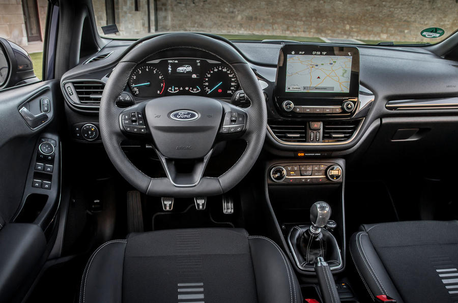 Ford Fiesta dashboard